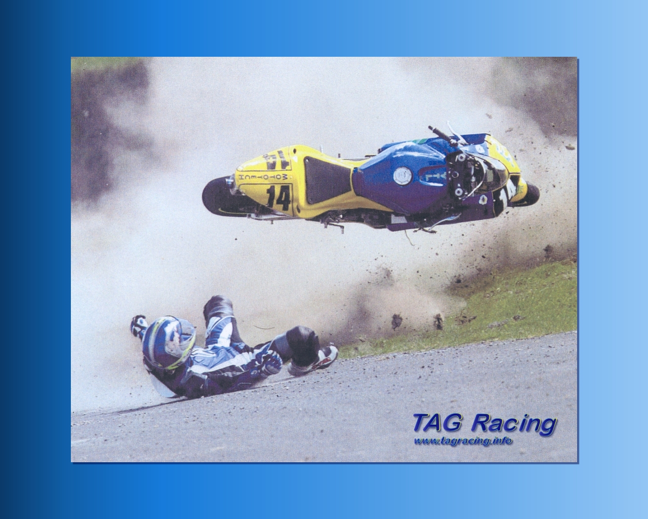 TAG Racing Wallpaper - Lovers Part (1280 by 1024 Pixel)